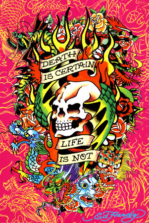 Buy Ed Hardy - Death is Certain at AllPosters.com