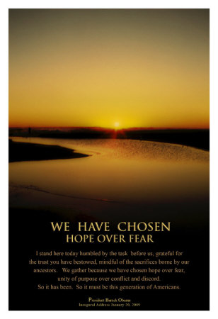 Obama: Hope Over Fear