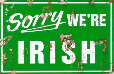Sorry We're Irish