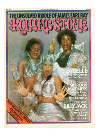 Labelle, Rolling Stone no. 190, July 3, 1975 Photographic Print