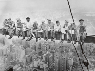 Lunch Atop a Skyscraper, c.1932 Posters