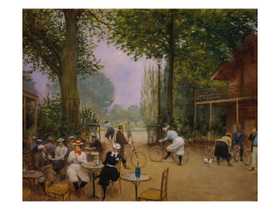 The Chalet of the Bicycle at Bois De Boulogne