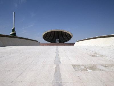 Ramp That Leads to the Great Dome and the Monument to the Unknown Soldier, Baghdad, Iraq