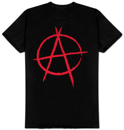 Anarchy - Buy this t-shirt at AllPosters.com