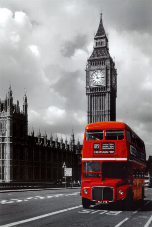 London - Red Bus,