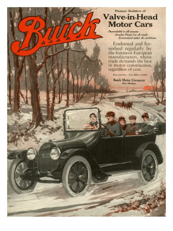 Buick Division of General Motors, Magazine Advertisement, USA, 1910
