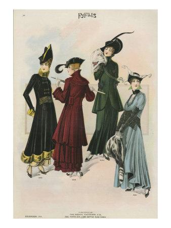 Le Costume Royal, Magazine Plate ...