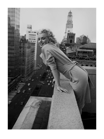 Marilyn Monroe at the Ambassador Hotel, New York, c.1955 Art Print