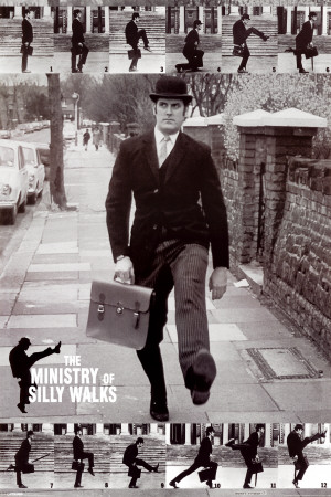 Monty Python - The Ministry of Silly Walks