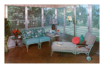 Enclosed Patio Furnishings