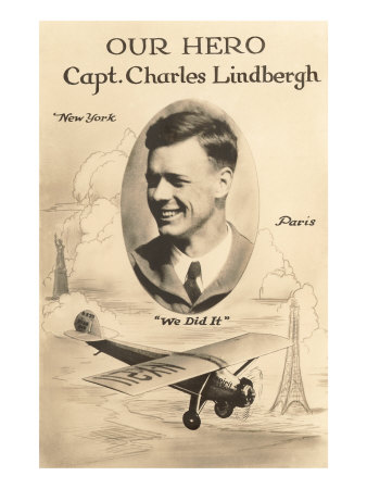 charles lindberghs heroic flight that captured america Charles lindbergh essay examples charles lindbergh's heroic flight that captured america a history of charles lindbergh the american aviator.