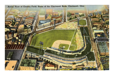 Crosley Field, Cincinnati, Ohio