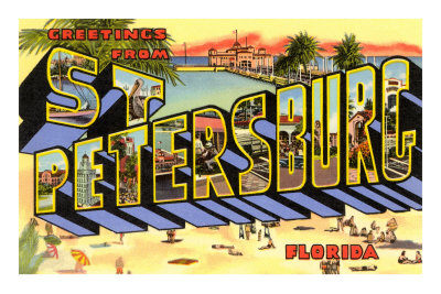 Greetings from St. Petersburg, Florida