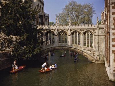 Bridge of Sighs over the River Cam at St. John