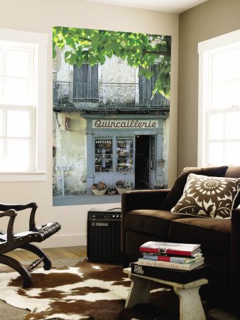 Shop in Sault, Provence, France Posters
