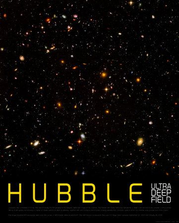 Hubble Ultra Deep Field Art Print