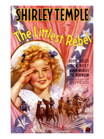 Littlest Rebel, Shirley Temple, 1935