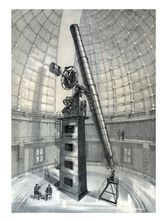 The James Lick Telescope.