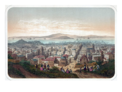 View of San Francisco 1860.