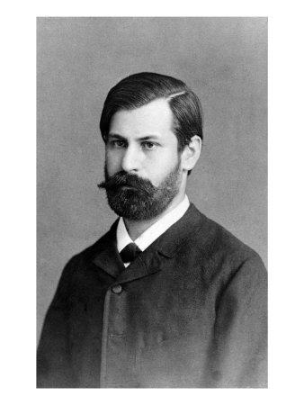 Sigmund Freud in jungen Jahren