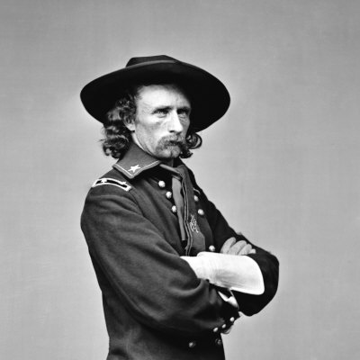 George Armstrong Custer, U.S. Army Major General, 1863