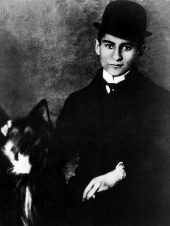 Author Franz Kafka, 1910s