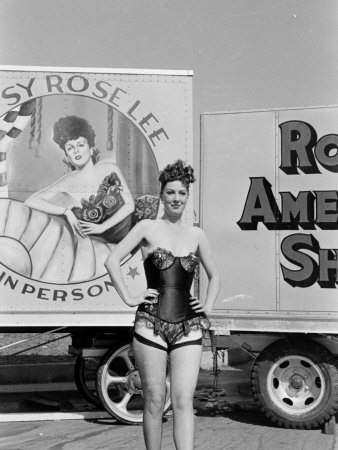 Gypsy Rose Lee, Burlesque Dancer, Carnival Queen