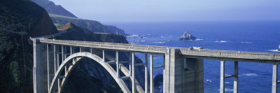Bixby Bridge Big Sur Ca, USA