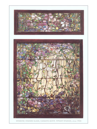 Stained Glass Window by Tiffany.