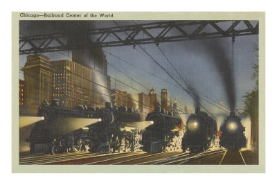 Locomotives, Chicago, Illinois