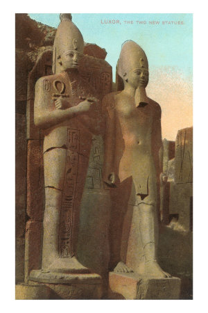 Statues at Luxor, Egypt