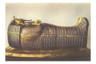 King Tut Outer Mummy Case
