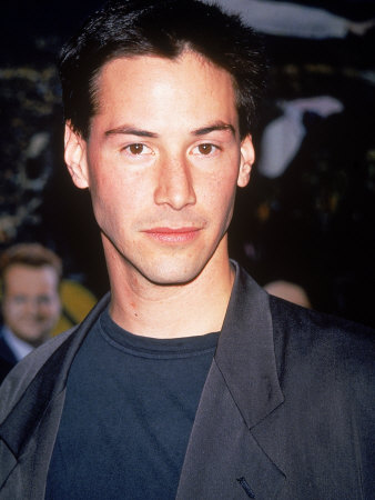 "Actor Keanu Reeves at Film Premiere of His ""Speed"""