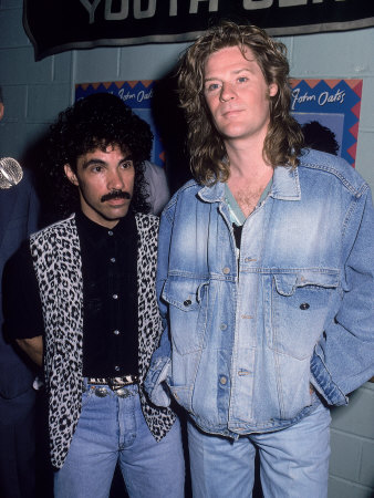 Musical Performers John Oates and Daryl Hall - Buy this premium photographic print at AllPosters.com
