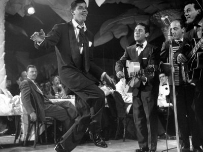 Comedian Jerry Lewis, Dancing to the Quartet