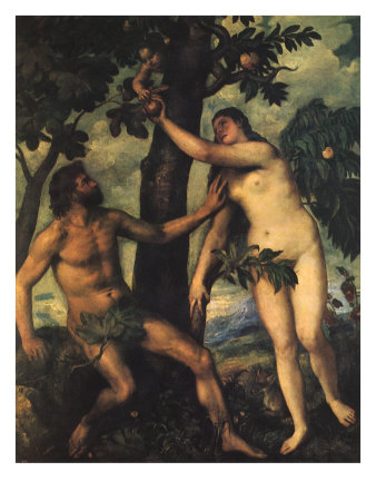 Adam and Eve, 1625, Peter Paul Rubens
