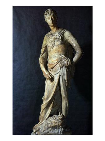 Donatello's David, 1408