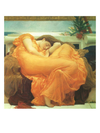 Flaming June, 1895,Frederic  Leighton