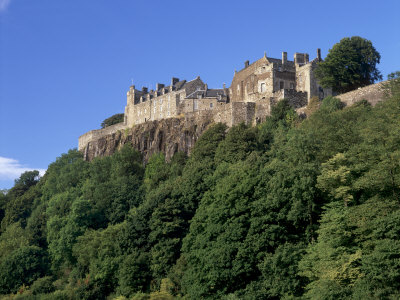 Stirling Castle, Atop Castle Hill, from the Southwest, Stirling, Scotland, United Kingdom, Europe