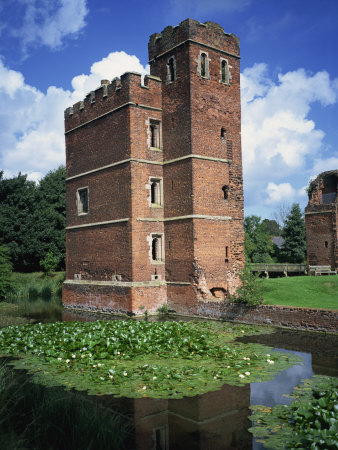 Muxloe Castle, Kirby, Leicestershire, England, United Kingdom, Europe