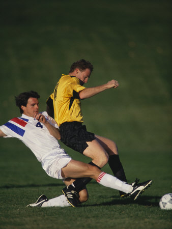 Buy Soccer Players in Action at AllPosters.com