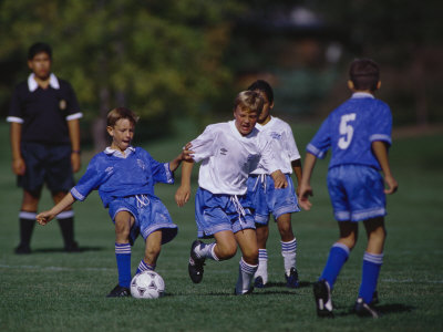 Buy 11 Year Old Boys Soccer Action at AllPosters.com
