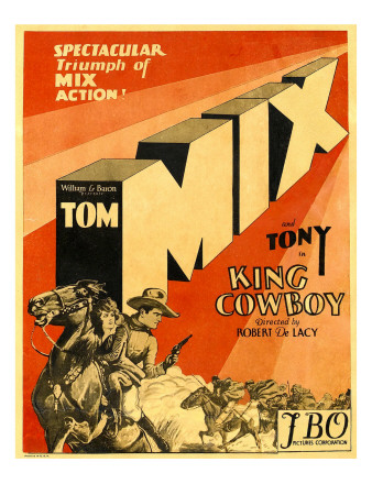 King Cowboy, Lower Left, 1928