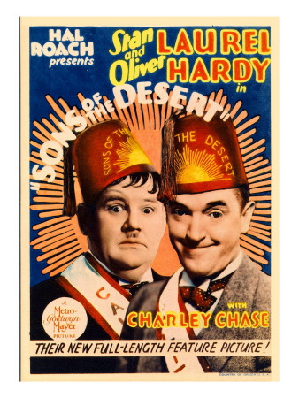 Sons of the Desert, Oliver Hardy, Stan Laurel, 1933
