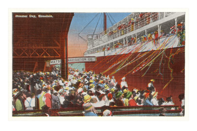 Steamer Day, Honolulu, Hawaii