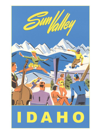 Sun Valley, Idaho, Graphic of Winter Resort Activities