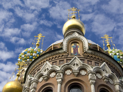 The Cathedral of The Resurrection, Nevsky Prospekt, St. Petersburg, Russia