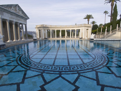 Neptune Pool at Hearst Castle, San ...