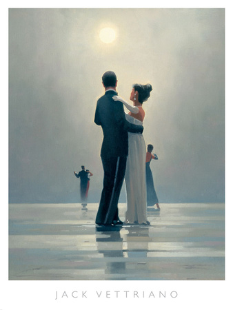 Vettriano lovers dance