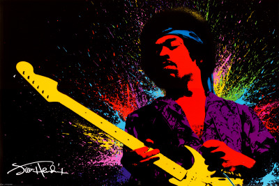 Jimi Hendrix - Buy this poster at AllPosters.com